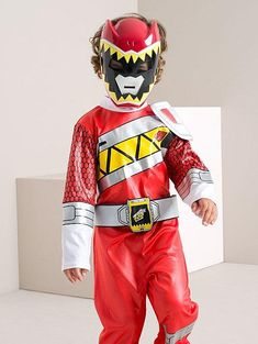 Power Rangers Dino Charge naamiaisasu Power Rangers Dino, Costume Dress, Fancy Dress, Ronald Mcdonald, Costumes, Boys, Fictional Characters, Dresses, Dress
