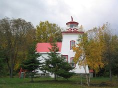 Janet Head lighthouse [1879 - Gore Bay, Manitoulin Island, Ontario, Canada]