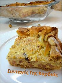 Τάρτα τυρόπιτα Lasagna, Macaroni And Cheese, French Toast, Breakfast, Ethnic Recipes, Food, Morning Coffee, Mac And Cheese, Essen