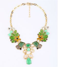 2013 Free Shipping ! Trend vintage party chunky choker statement necklace for women jewelry at factory price! $12.00