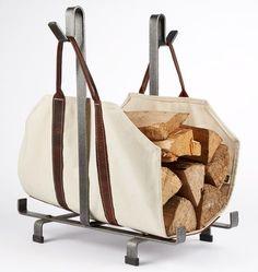 Log Carrier Bag with Rack | Rejuvenation