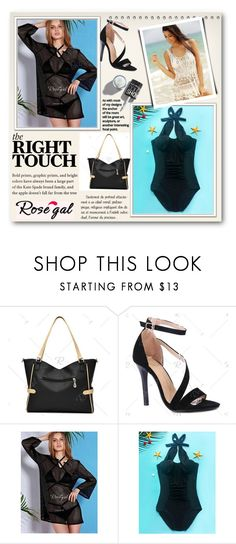 """""""rosegal bikini"""" by newoutfit ❤ liked on Polyvore"""