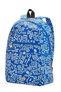 Accessori da viaggio: zaino pieghevole Keith Haring