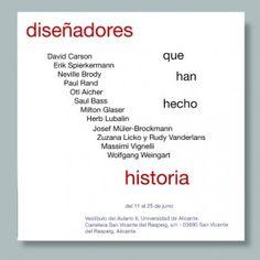 Este es uno de los diseños de la serie de carteles de Pablo Orive López.