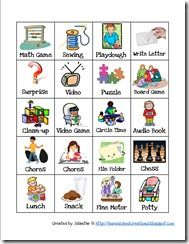 homeschool workboxes printables