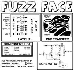 VINTAGE STYLE FUZZ FACE - SILICON