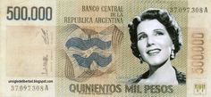 Billete argentino conmemorativo