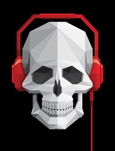 Never stop the music by Frederico Birchal, via Behance
