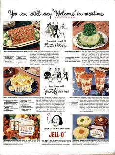Classic Jello Salads