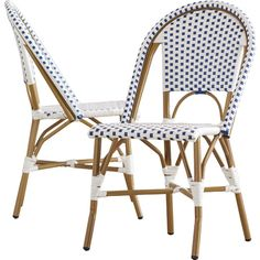 Del Mar Side Chair (set of 2) $197 (navy or yellow) from allmodern