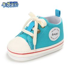 High Quality Baby Shoes Infant First Walkers Canvas Rubber Sole 8 Colors Baby Boy Girl Sneakers Kids Toddler Newborn Crib Shoes