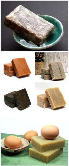 Ten wonderful cold process homemade soap recipes that use food as at least one of the ingredients!