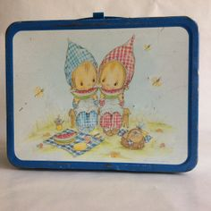 Vintage Betsey Clark lunch box, lunchbox, metal, 1970s, Hallmark