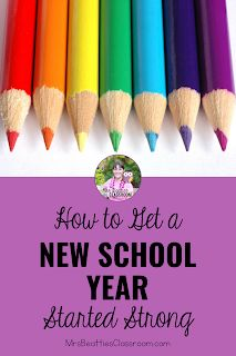 How to Get an Amazing New Year Started Strong New School Year, School Days, Back To School, Teaching Math, Teaching Resources, Teaching Ideas, Teacher Organization, Teacher Hacks, New Students