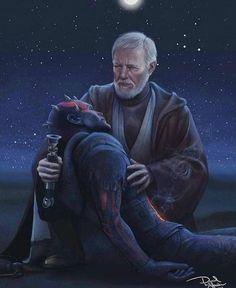 Darth Maul & Obi Wan Kenobi😮 Tag your Star Wars Friends! Star Wars Fan Art, Star Wars Klone, Star Wars Saga, Star Wars Meme, Star Wars Comics, Star Wars Rebels, Ewok, Chewbacca, Star Wars Zeichnungen
