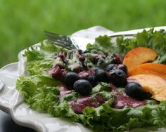 HOMEMADE BLUEBERRY VINAIGRETTE