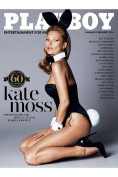 E Playboy Penthouse ** KATE MOSS ** POSTER Mulitple Sizes Available