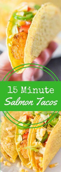 Enjoy salmon tacos i