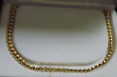 18K gold over Sterling Silver Baby San Marco necklace made in Italy #SanMarco #Choker