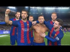 Chei!! Barcelona Has Eliminated Liverpool with 6-0 in FIFA 17 (Official ...