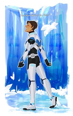 """ Guardian Spirit of the Water  "" Shiro/Keith/Lance/Hunk/Pidge"