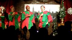 ELFPROV is back – Breakfast with Santa at Broadway Comedy Club Times Square NYC