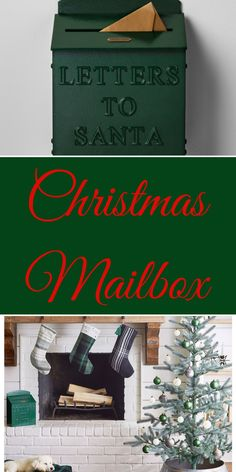 Christmas Decorations Christmas Mailbox Letters to Santa from Hearth & Hand™ with Magnolia.  his small mailbox is the perfect size to brighten up your space with its festive color without overwhelming the room. The metal mailbox features a slot in the top so the kids in your life can drop in their letters to Santa and feel like they're really sending them to the North Pole. Made of rust-resistant metal, this mailbox will be a family favorite for years to come. #Christmas#ad Metal Mailbox, Holiday Gifts, Holiday Ideas, Presents For Mom, Santa Letter, North Pole, Santa Christmas, Gift List, Beautiful Christmas