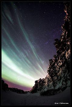 Aurora Borealis - Iceland   by Arnar Valdimarsson