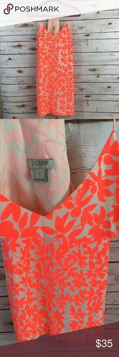 "J.Crew Floral Print Dress Size 8 J.Crew Floral printed dress, new without tags! Armpit to armpit 18.5"" / total length 38"" J.Crew Dresses"