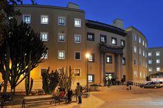 Biblioteca Antonio de Nebrija, Universidad de Murcia. Al atardecer
