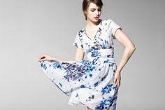 """""""In questa immagine: Abito (4B0FLV125). Collezione Donna United Colors of Benetton primavera/estate 2013."""""""
