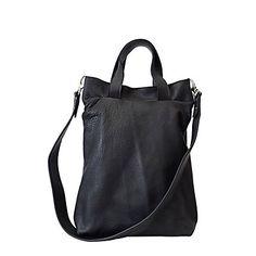 Sonja heeft het gemaakt leren tas