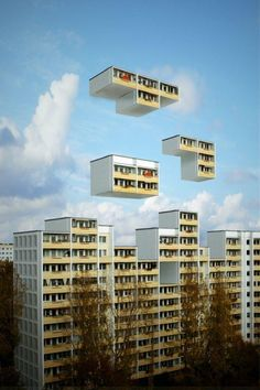 Buildings in the future