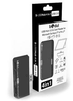 New HUB USB 3.0 avec 2 ports USB + lecteur de carte 4 en 1 pour tablette Microsoft Surface Pro 2, Surface 2, Surface Pro, Surface RT.: Amazon.fr...
