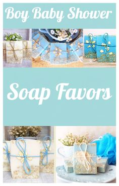 Baby Shower Decorations For Boys, Boy Baby Shower Themes, Baby Shower Favors, Baby Boy Shower, Soap Favors, Party Favors, Shower Soap, Pink Accents, Organic Oil