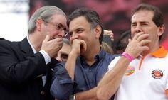 Cunha deixou a mídia e a oposição nuas em praça pública