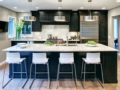 HGTV's Best Pictures of Kitchen Cabinet Color Ideas From Top Designers : Page 34 : Rooms : Home & Garden Television