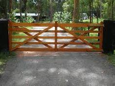Front Entrances and Gates Driveway Entrance, Entrance Gates, Timber Gates, Farm Gate, Front Gates, Property Development, Front Entrances, Farm Gardens, Garden Bridge