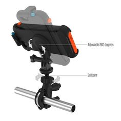 Catalyst Multi Sport Mount compatible with Go Pro mounts and tripods. Orientate your phone to get the optimal angle for photos or mount your phone on the handlebars of your bike Gopro, Bike, Phone, Sports, Bicycle Kick, Hs Sports, Bicycle, Telephone, Sport