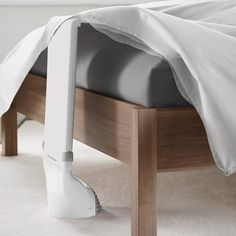 Bed Fan helps keep you cool beneath the sheets. I need this.