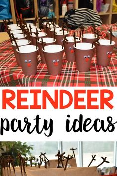 Classroom Reindeer Party Ideas by Teaching with Haley. I wanted to share some adorable ideas for your classroom Winter party! From Holiday cookie decorating ideas, reindeer ornaments to Reindeer antler hats. Fun Christmas and Holiday ideas for preschool, kindergarten, first grade, second grade, and more. Great for leading up to Christmas and the Winter break. Learn more