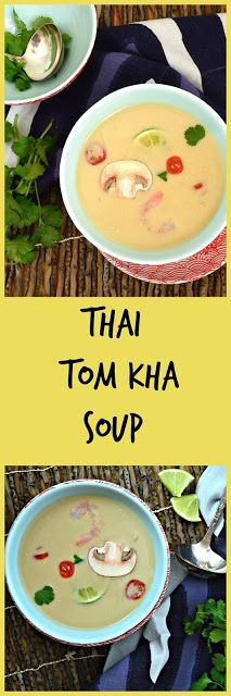 This is How I Cook: Tom Kha Soup and Thai Food in Denver A perfect fast, easy and healthy recipe for dinner that can be used with chicken or shrimp. Easy Soup Recipes, Thai Recipes, Light Recipes, Pork Recipes, Vegetable Recipes, Healthy Dinner Recipes, Asian Recipes, Great Recipes, Favorite Recipes