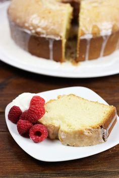 Peach Bellini Pound Cake