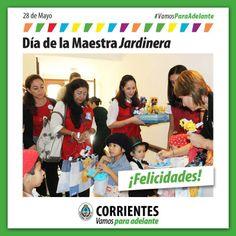Día de la Maestra Jardinera ¡Felicidades! #VamosParaAdelante
