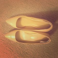 Patent Leather heels Very comfy. Charles & Keith  Shoes Heels