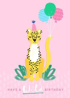 Holly Sims Illustrator - Illustration Design Surface Pattern Wedding Stationery - Illustrated Birthday Cards