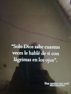 Solo dios lo sabe...