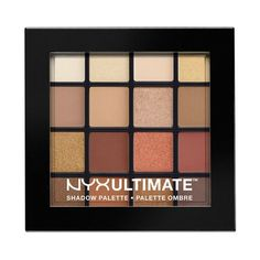 NYX Cosmetics Ultimate Shadow Palette Warm Neutrals luomiväripaletti