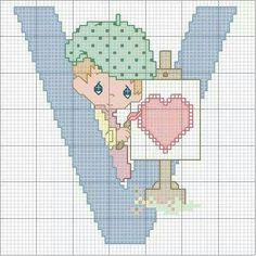 . C2c Crochet, Crochet Needles, Cross Stitch Letters, Cross Stitch Charts, Precious Moments, Stitch Patterns, Crochet Patterns, Needlework, Projects To Try