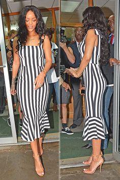 """arielcalypso:  Rihanna at """"Queen Elizabeth Hospital"""" in Barbados. (21st November 2014)"""